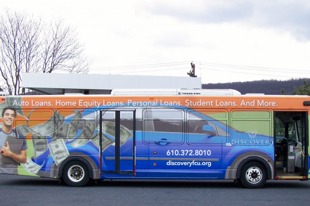BARTA Bus Advertising Reading PA