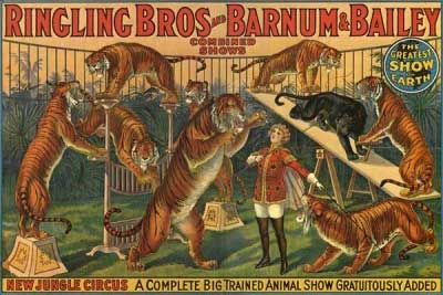 Barnum & Bailey Outdoor Advertising