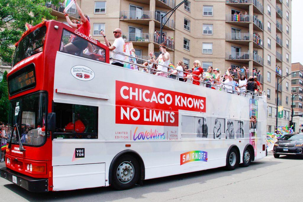 Smirnoff at Pride Parade 2019