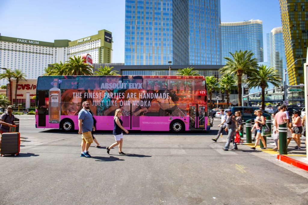 Double Decker Bus Advertising Las Vegas
