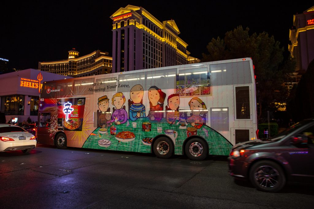 Bus Advertising Las Vegas