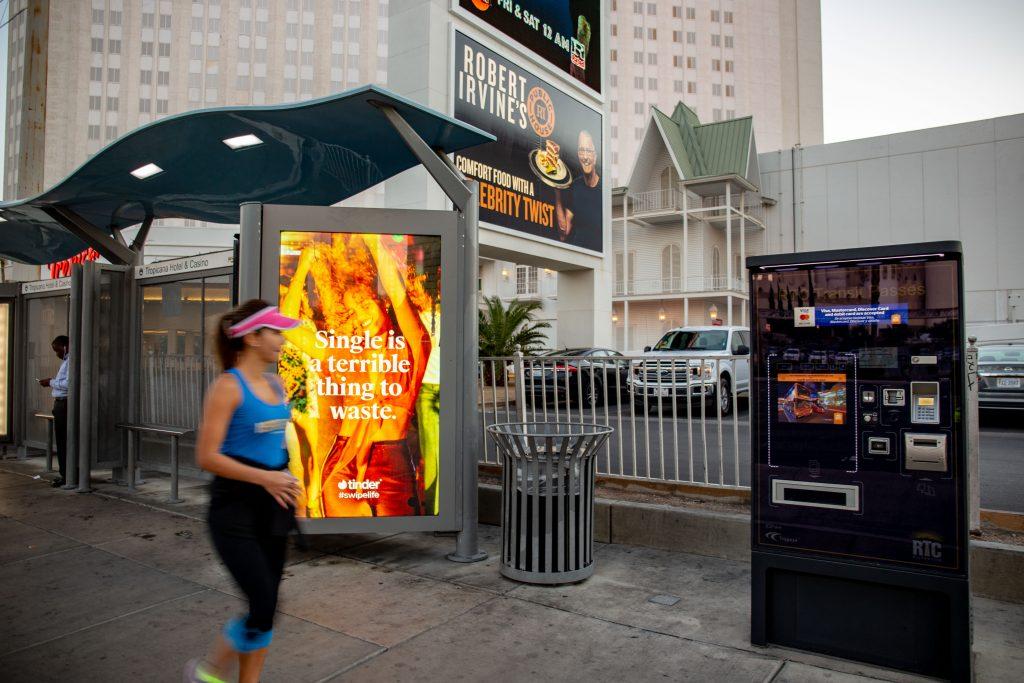 Street Advertising Las Vegas