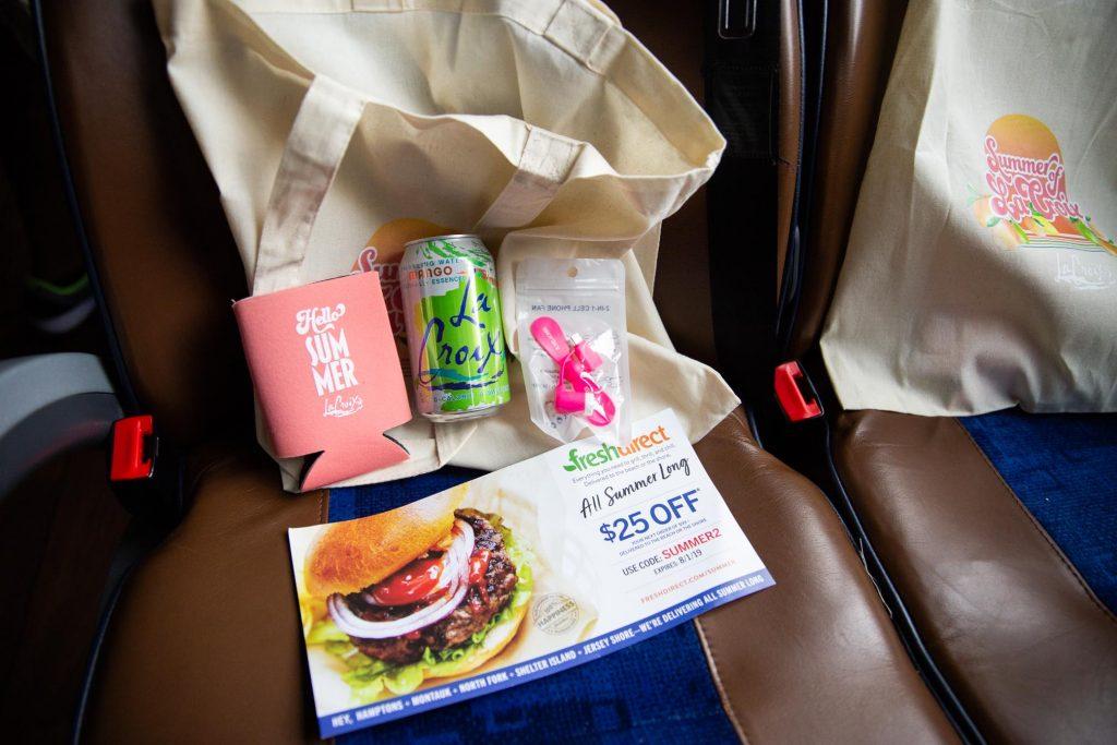La Croix - Product Sampling on the Jitney